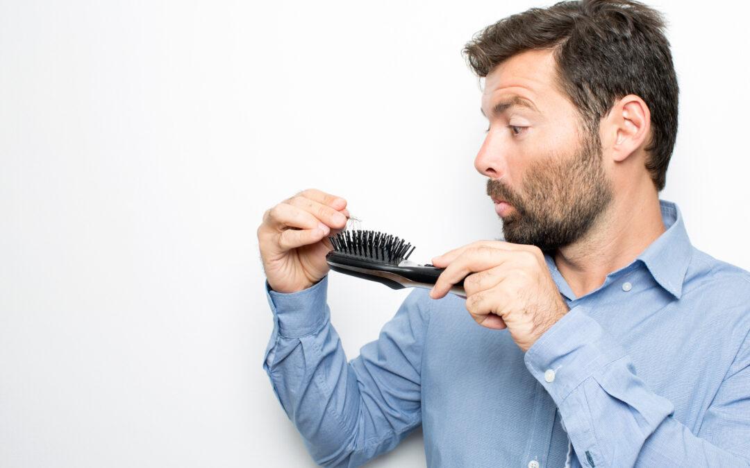 Síntomas de caída de pelo